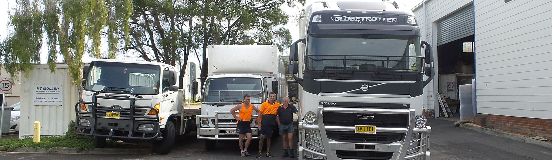 HIGHLY EXPERIENCED INTERSTATE REMOVALS TEAM